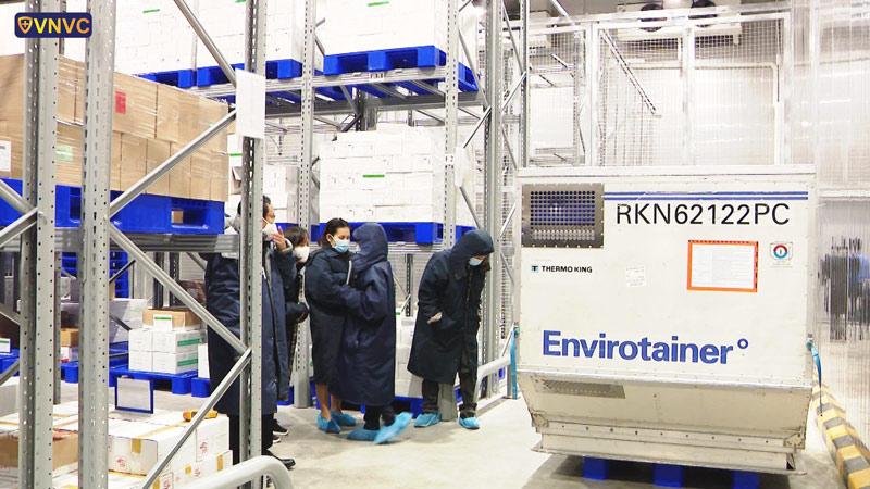 Kho lạnh dữ trữ vaccine