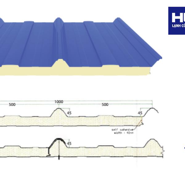 Panel cách nhiệt lợp mái nhà
